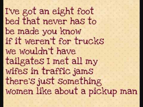 Pick-Up Man By:Joe Diffie with Lyrics!