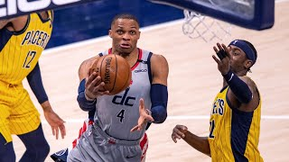 Beal 50 Pts! Westbrook Game Winning Block OT on LeVert! Ties Trip Dub Record! 2020-21 NBA Season