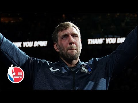 Dirk Nowitzki has emotional final game with Mavericks   NBA Highlights