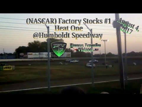 Factory Stocks #1, Heat, Humboldt Speedway, 2017