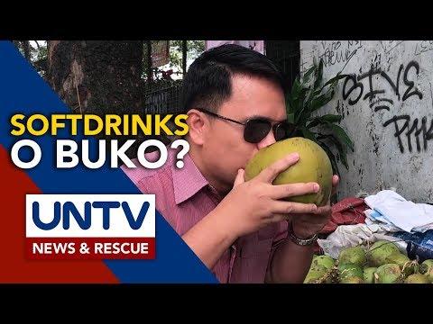 ALAMIN: Mga Health Benefits Sa Pag-inom Ng Buko Juice