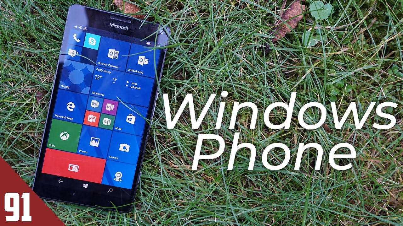 Using A Windows Phone 5 Years Later