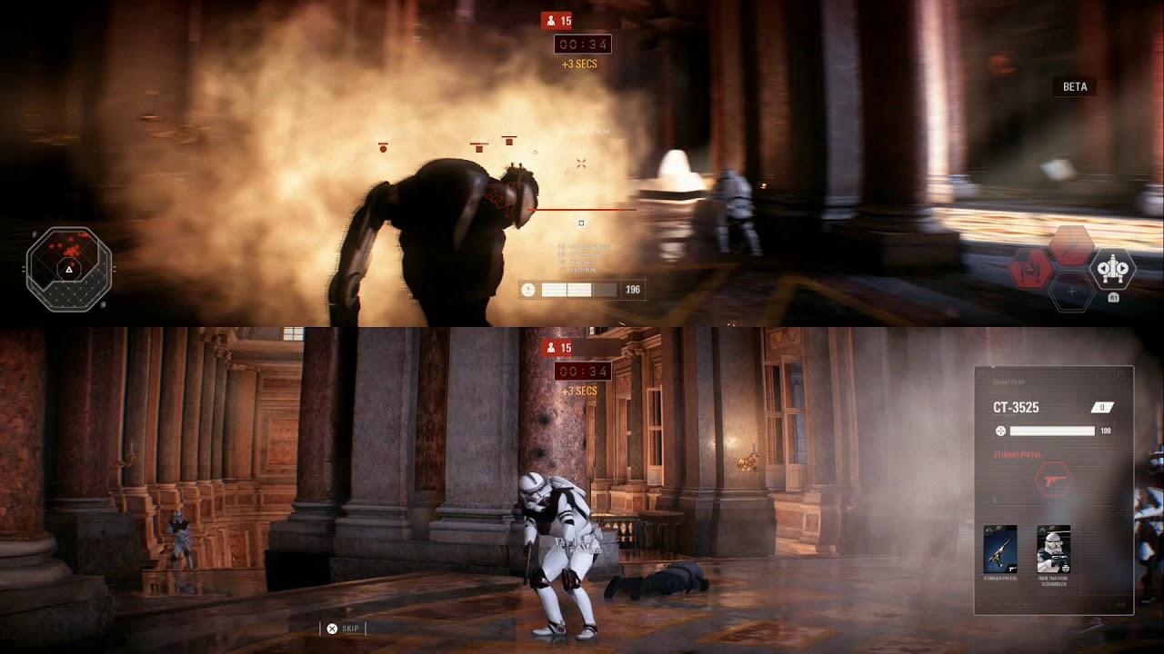Star Wars Battlefront 2 | Split Screen Gameplay | Local ...