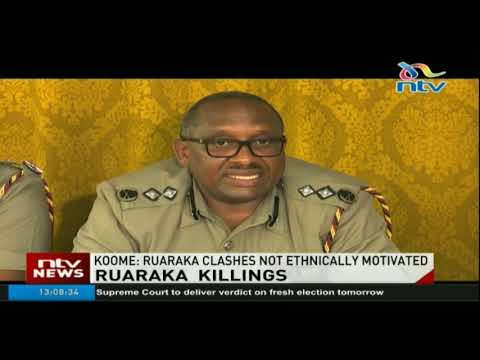 Police say Ruaraka attacks are not ethnically motivated