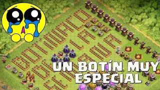 ¡¡UN BOTÍN MUY ESPECIAL!! El mayor robo posible | Botinaco de la Semana | Clash of Clans | Español
