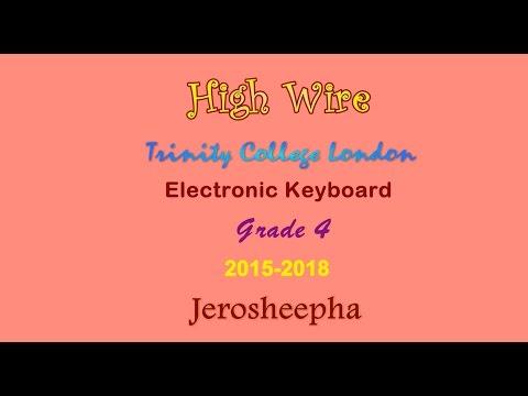 High Wire - Trinity Grade 4 - Electronic Keyboard