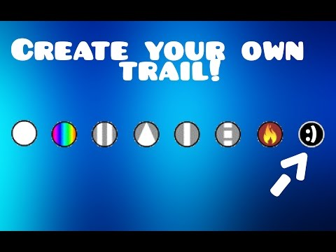 MAKE YOUR OWN GEOMETRY DASH TRAIL Tutorial + Bonus Clip