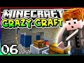 Minecraft: Crazy Craft 3.0 - Episode 6 - AUTO MINING TUNNEL BORE! (Railcraft Mod)