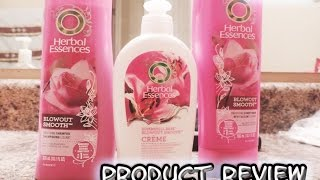 Product Review: Herbal Essences Blowout Smooth Line