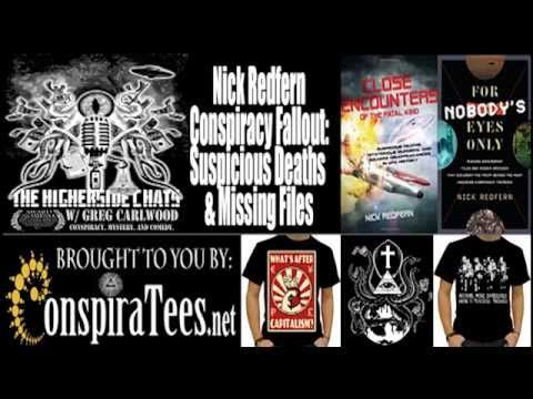 Nick Redfern | Conspiracy Fallout: Suspicious Deaths & Missing Files