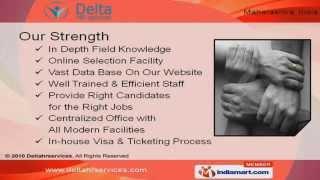 international manpower recruitment services by delta recruitment consultants pvt ltd mumbai