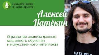 Алексей Натёкин: «О развитии анализа данных, машинного обучения и искусственного интеллекта»