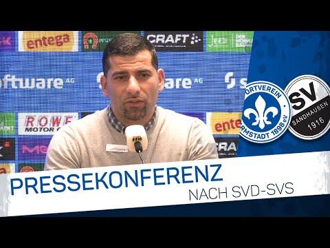 Darmstadt 98 | Pressekonferenz nach SVD-SVS