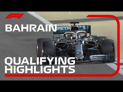 2019 Bahrain Grand Prix: Qualifying Highlights