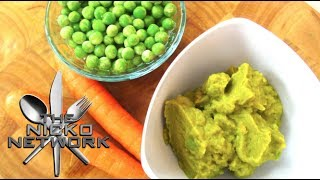 Peas & Carrot Puree - Baby Food Recipe Thumbnail