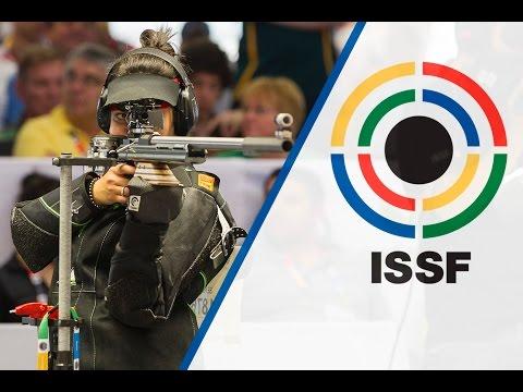 Finals 50m Rifle 3 Positions Women - ISSF World Championship in all events 2014, Granada (ESP)