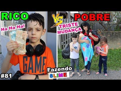 RICO VS POBRE FAZENDO AMOEBA / SLIME #81