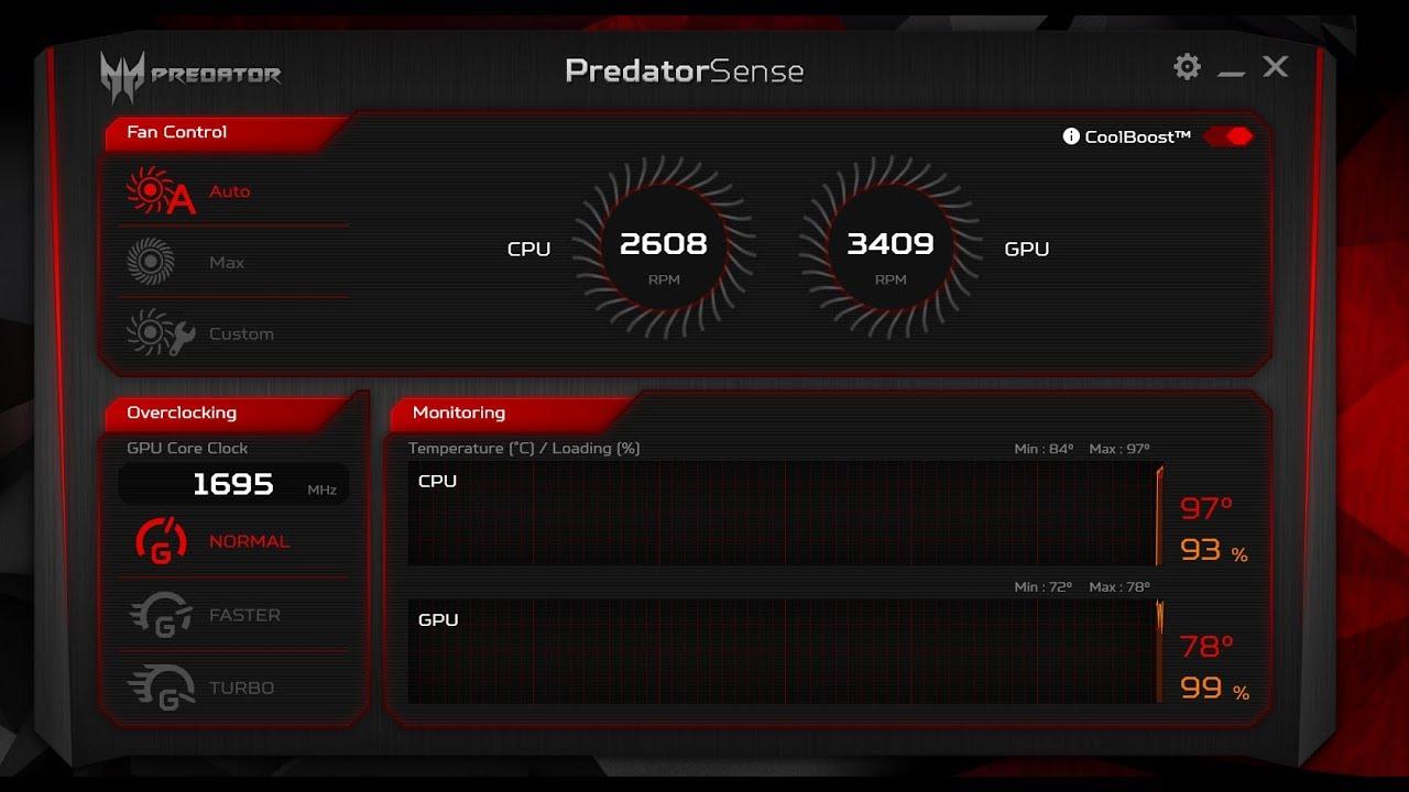 Install PredatorSense on Acer Nitro 5