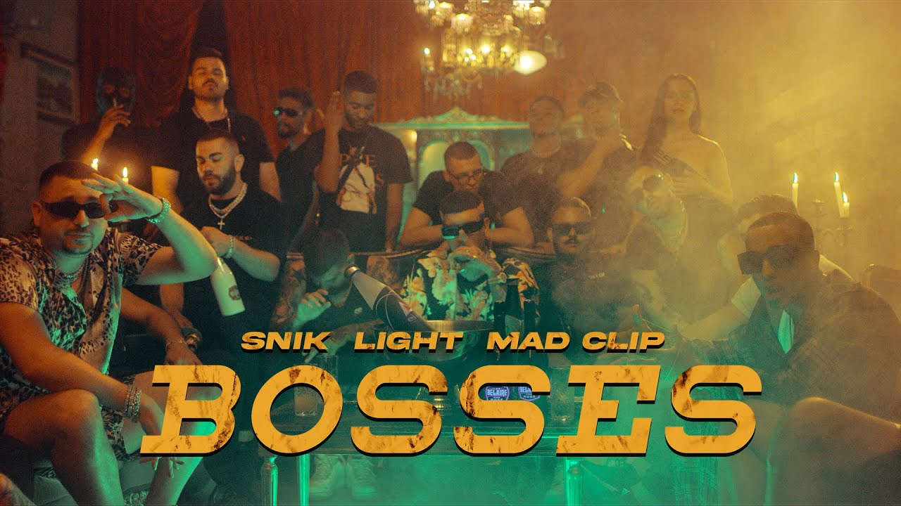 Download SNIK ft. Light, Mad Clip - BOSSES (Official Music Video)