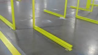 Warehouse Floor Striping Company in Lakeland Florida
