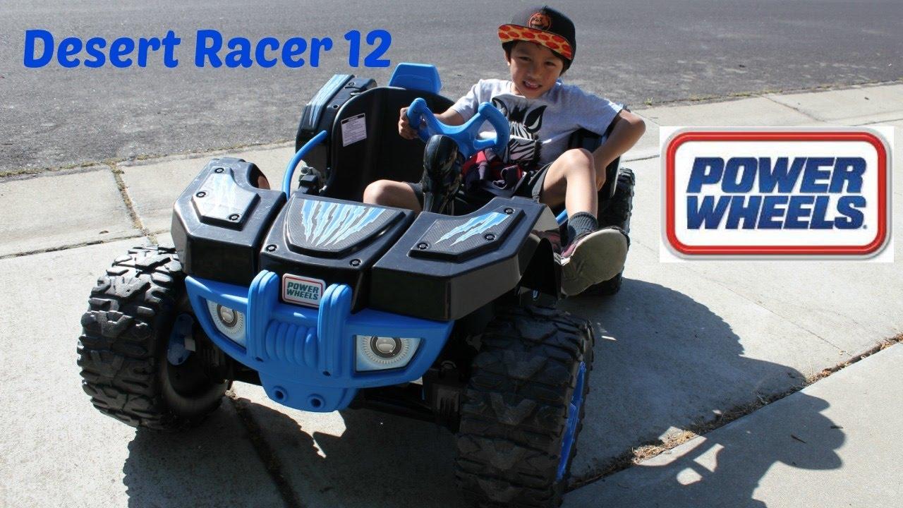 e092afb69e1a0 POWER WHEEL DESERT RACER! 12 Volt Ride On - YouTube