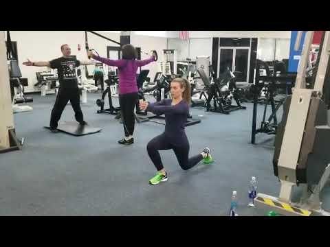 New U Fitness Kensington MD - Amy Metabolic Circuit