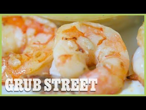 Mark Bittman's Buffalo Shrimp With Blue Cheese