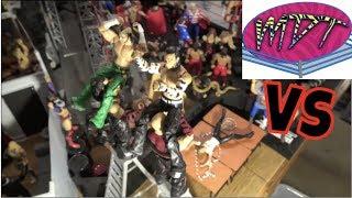 WWE Action Figure Set Up - VS MDT