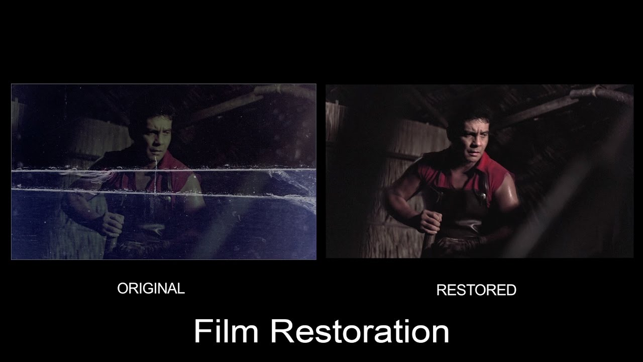 Film restoration ang panday classic movies by fpj productions inc