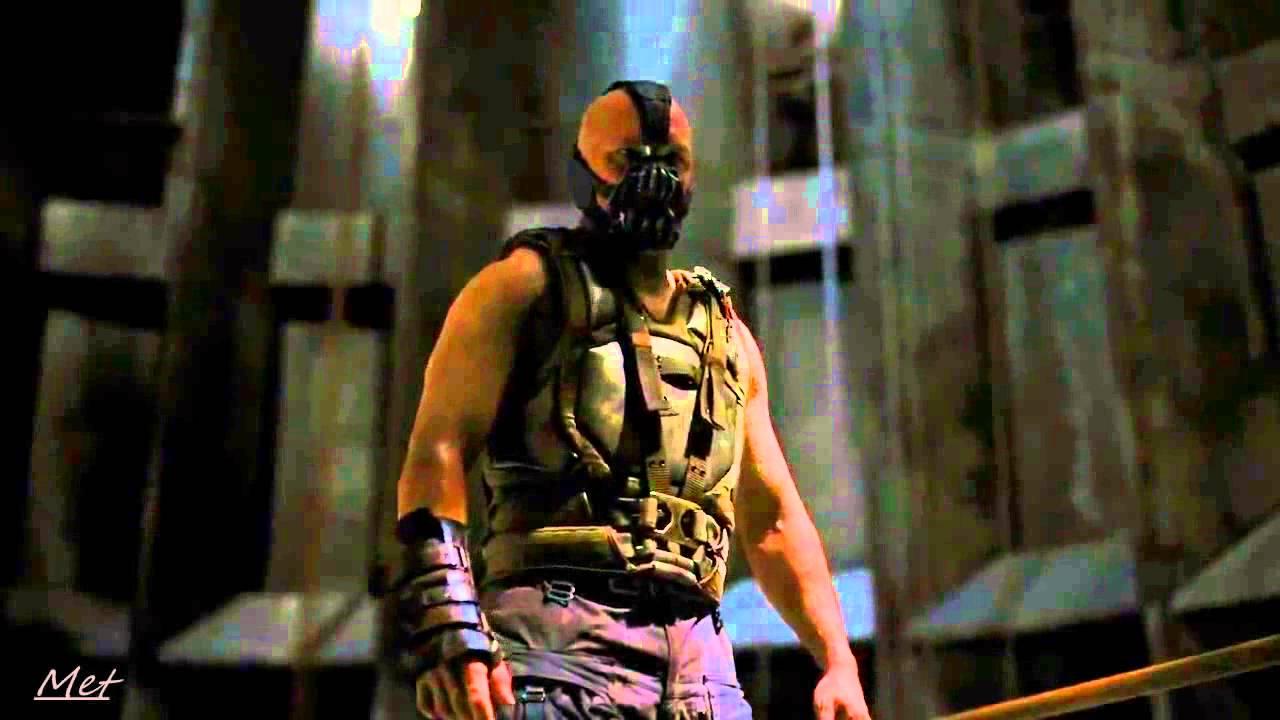 Il Cavaliere Oscuro Il Ritorno Scontro Tra Bane E Batman