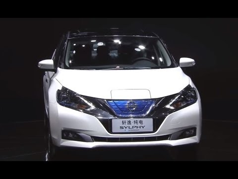 งานเปิดตัว 2018 Nissan Sylphy EV (นิสสัน ซิลฟี่ อีวี) ในงาน Auto China 2018
