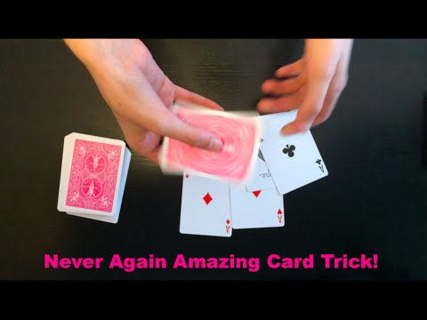 Never Again Intermediate Card Trick Revealed