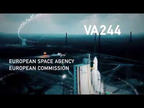 LIVE - Lancement Ariane5 VA244