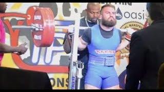 IPF World Record Squat @ 83 KG Bodyweight - Brett Gibbs