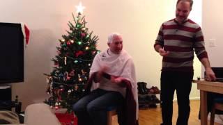 Peter V. Brett Shaves Myke Cole