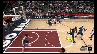 "NBA 2K3 - ""MJ Returns to Chicago"" Wizards vs Bulls"