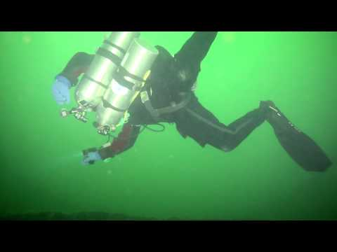 Diving in Baltic see. Poland, Hel 30.06.14