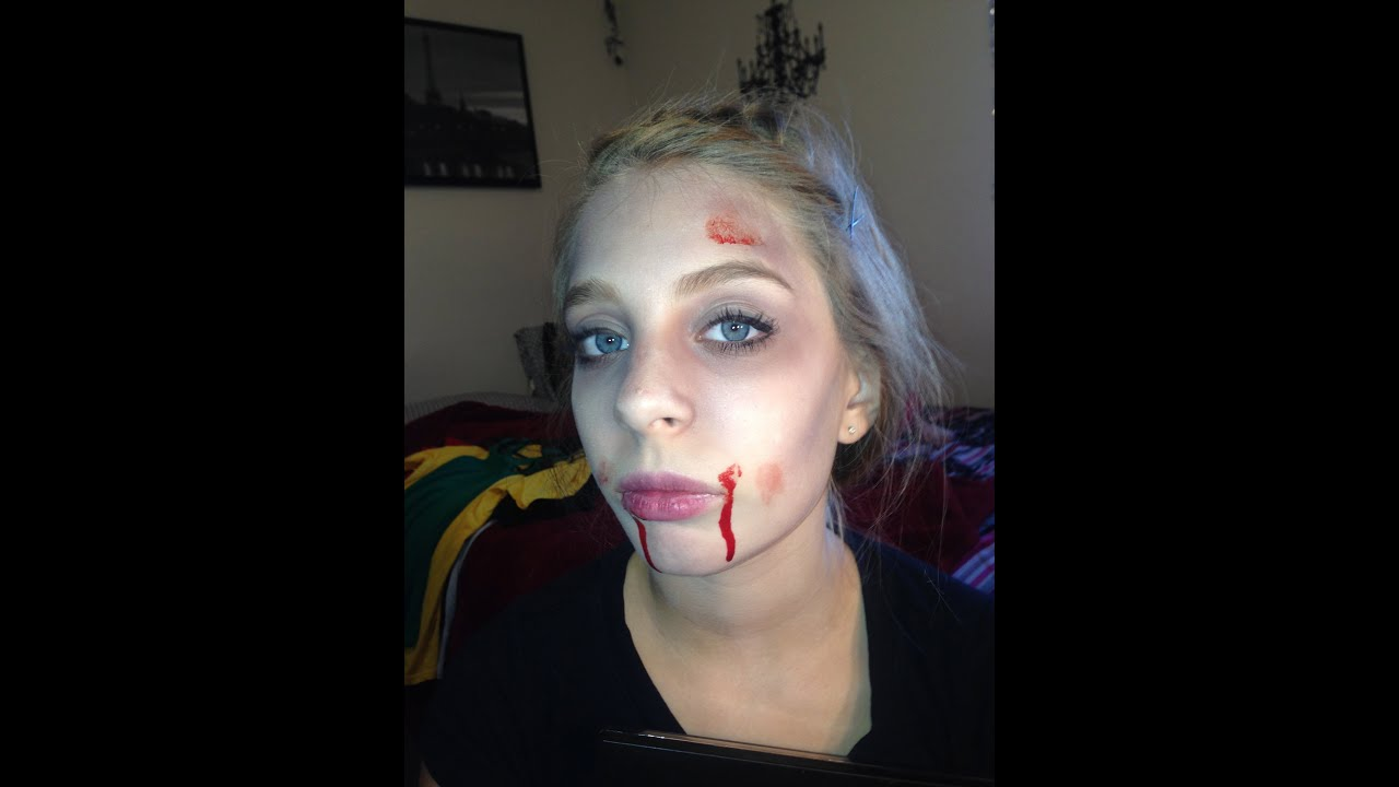 foto de How to look Dead for Halloween (Makeup Tutorial) YouTube