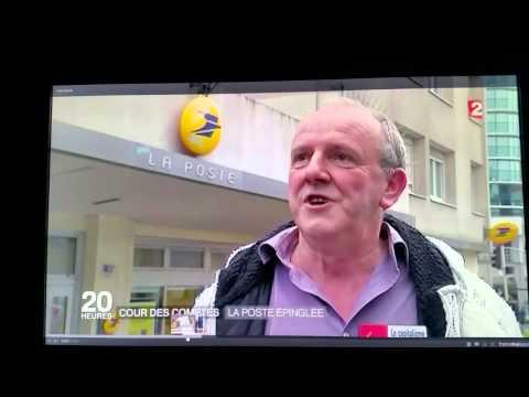 La Poste - Journal TV 20H France 2 - 10 février 2016