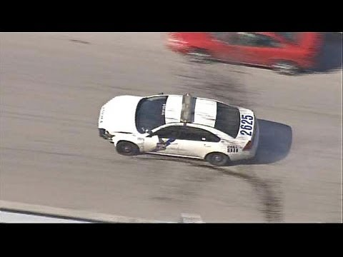 Woman Steals Two Police Cars in Wild Pursuit