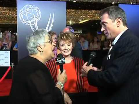 Dianne Davis and Wes Winters-37th Daytime Emmy Awards Red Carpet Interviews #2