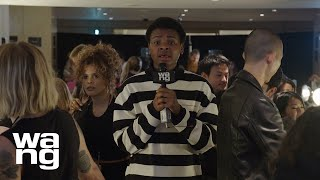 Jay Versace Goes Backstage at the Collection 1 2020 Runway Show | alexanderwang