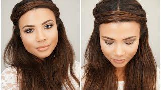Maquillaje y Peinado Bohemio Facil | Doralys Britto