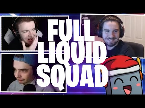 FULL LIQUID SQUAD DESTROYING Friday Night Fortnite