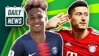 Supercup: FC Bayern schlägt Frankfurt! Schalke Transfer News: Kehrer zu PSG! BVB sucht Stürmer!