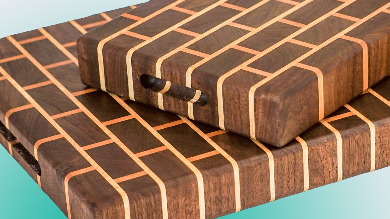 Tips For Making A Brick Style Cutting Board