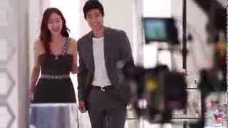 [2013 LOTTE DUTY FREE Music Video Making Film] A love story in Sing...