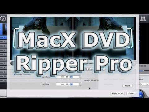 MacX DVD Ripper Pro (How to Rip DVD) 