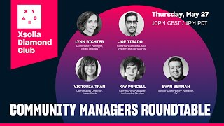 Xsolla Diamond Club Presents: Community Managers Roundtable