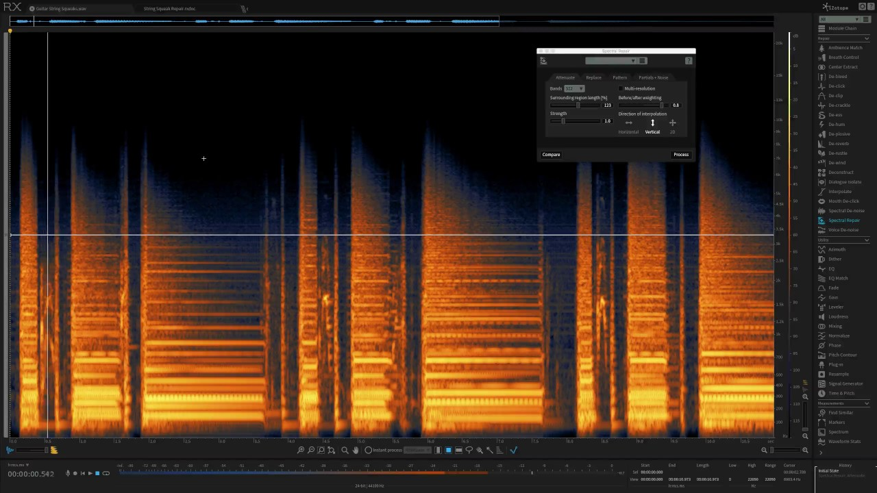 How to Use Spectral Repair in RX 6 for Music